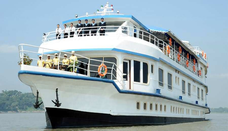 Take a cruise on the Brahmaputra