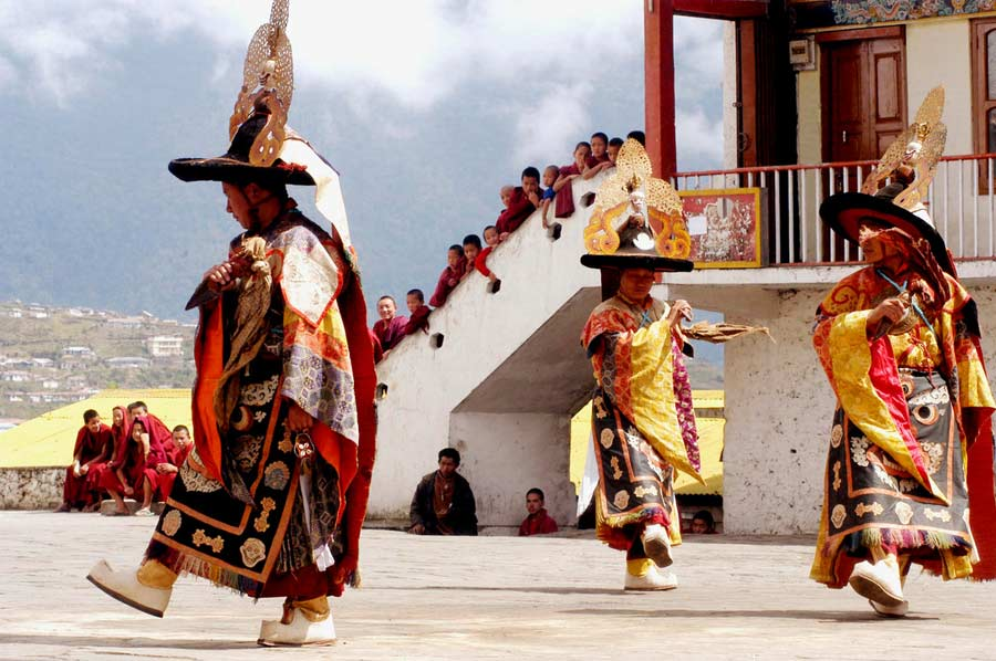 Soak in the colours and culture with Losar