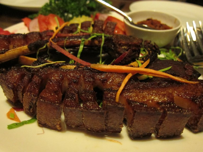 Pork Ribs Nagaland's kitchen