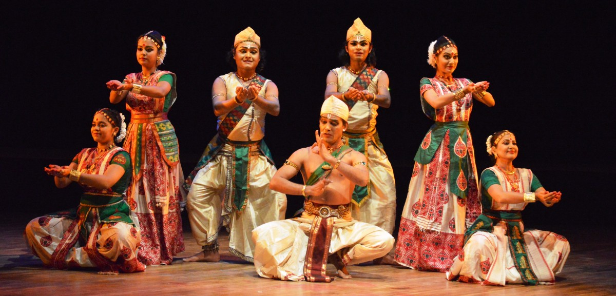 Ramkrishna Talkudar and group, Guwahati - Sattriya dance.